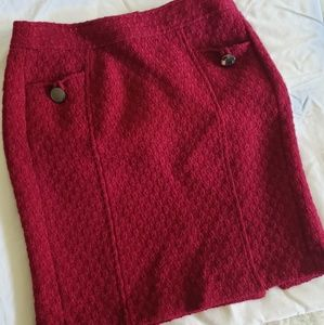 Banana Republic Women's Wool Skirt